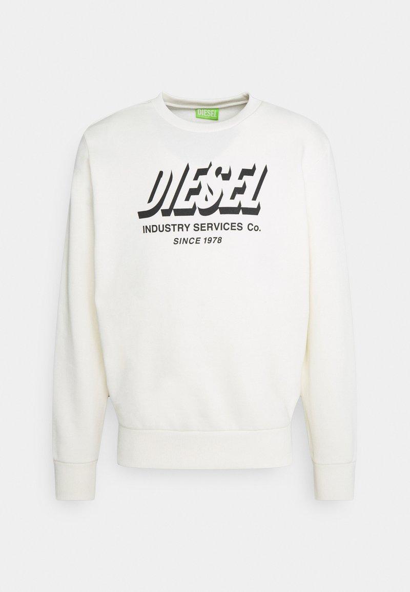 Diesel - S-GIRK-A74 UNISEX - Sweatshirt - off white