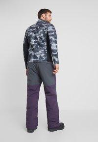 Billabong - TUCK KNEE - Snow pants - dark purple - 2