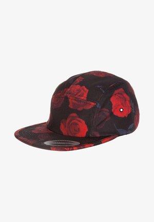 ROSES JOCKEY - Cappellino - black/red