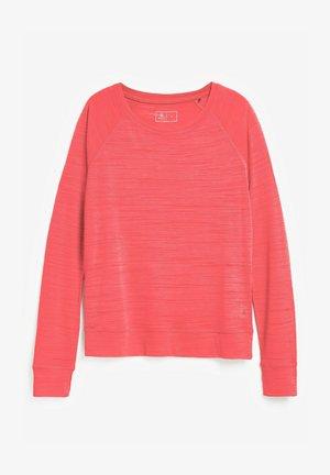 T-shirt à manches longues - coral