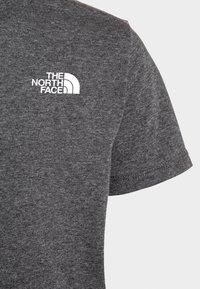 The North Face - SIMPLE DOME TEE UNISEX - Camiseta estampada - medium grey heather - 2
