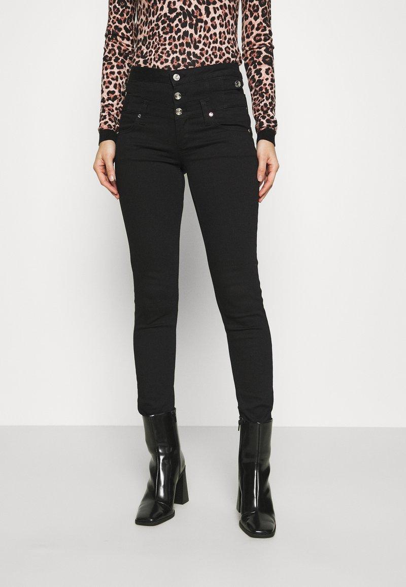 Liu Jo Jeans - RAMPY - Jeans Skinny Fit - black ribbon