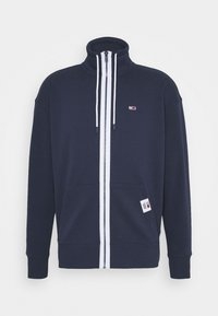 Tommy Jeans - SOLID TRACK JACKET - Zip-up hoodie - blue - 5