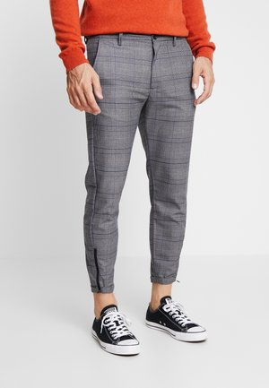 PISA ENGLISH CROPPED - Chinos - grey check