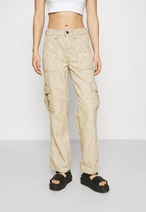 MARBLE SKATE JEAN - Trousers - beige