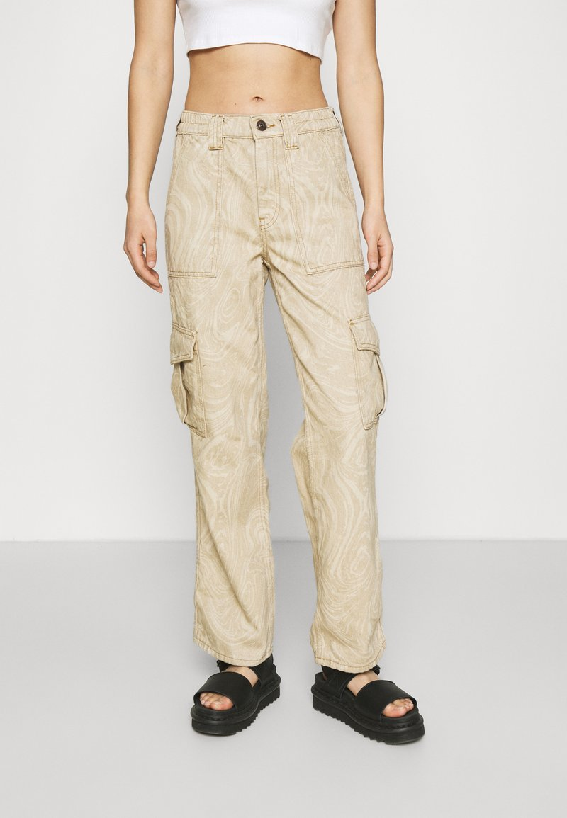 BDG Urban Outfitters - MARBLE SKATE JEAN - Pantaloni - beige