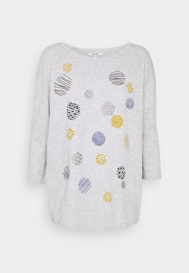 TEE - Langærmede T-shirts - light grey