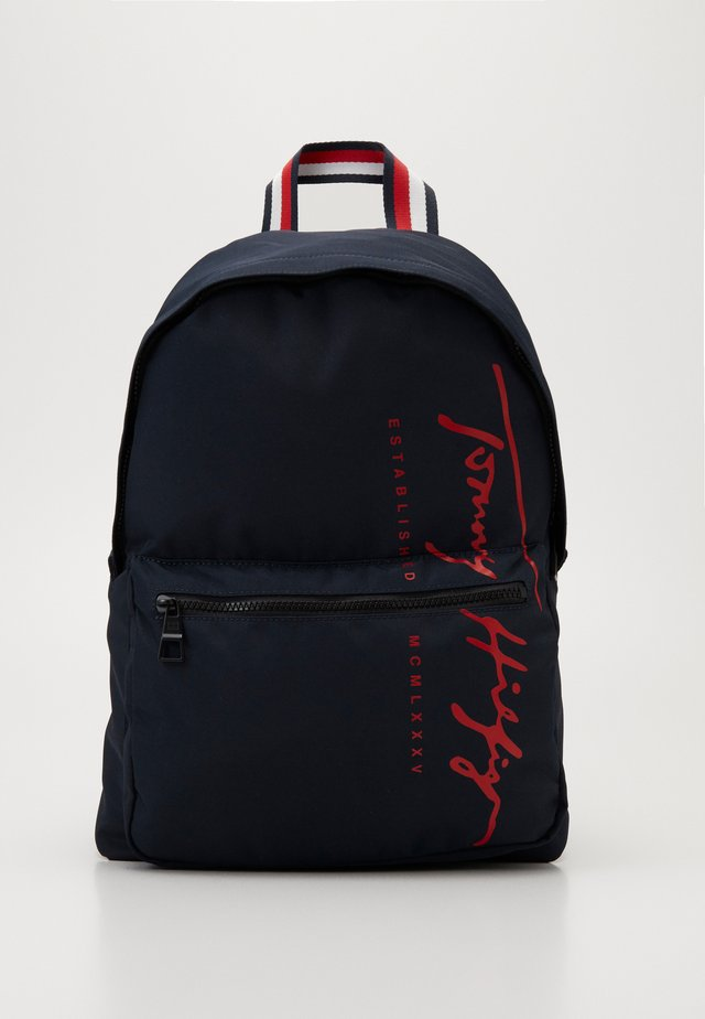 SIGNATURE BACKPACK - Reppu - blue