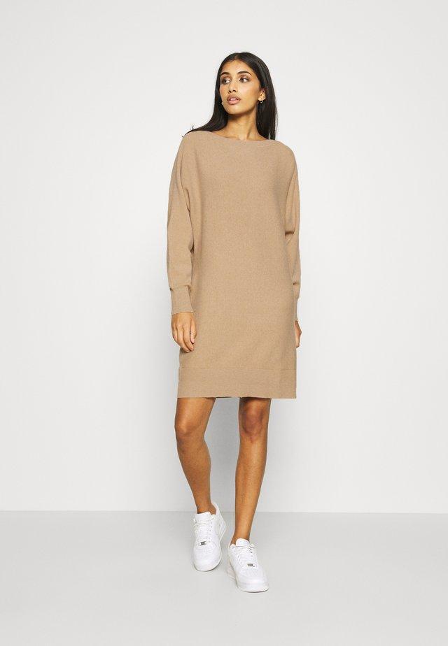 NMSHIP BOATNECK DRESS  - Strikket kjole - melangé