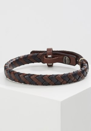 BRASS  - Bracelet - dunkelbraun