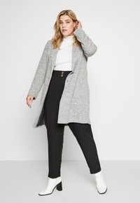 ONLY Carmakoma - CARCARRIE COAT - Manteau court - light grey melange - 1