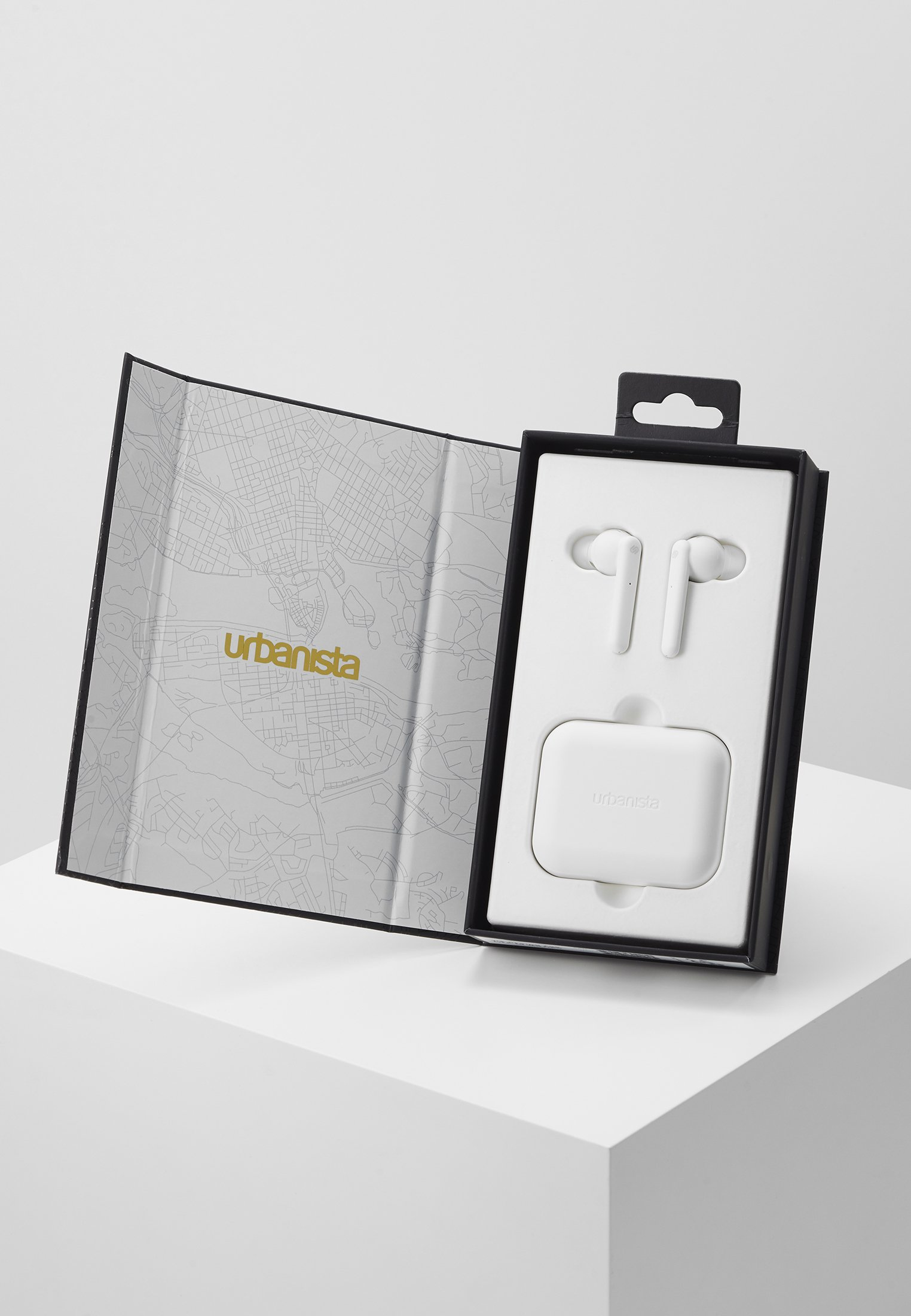 New Outlet Urbanista PARIS TRUE WIRELESS - Headphones - fluffy cloud - white | men's accessories 2020 QWmCT