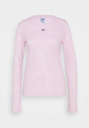 BURNOUT - T-shirt à manches longues - frost berry