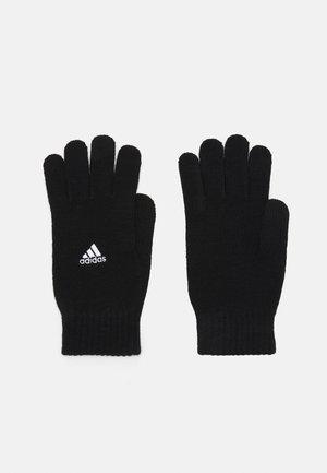 TIRO GLOVE UNISEX - Gloves - black/white