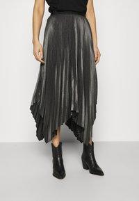 AllSaints - JAS SKIRT - A-line skirt - silver - 0