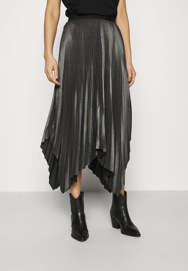 JAS SKIRT - A-line skirt - silver