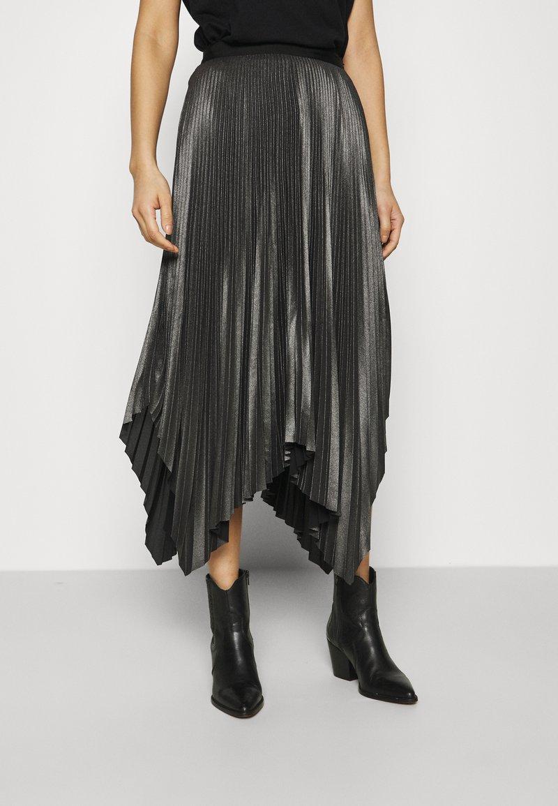AllSaints - JAS SKIRT - A-line skirt - silver
