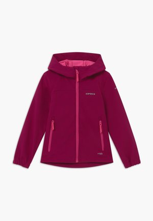 KAPPELN - Soft shell jacket - amethyst
