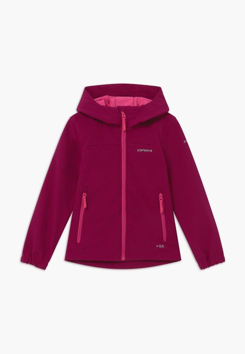 Icepeak - KAPPELN - Soft shell jacket - amethyst
