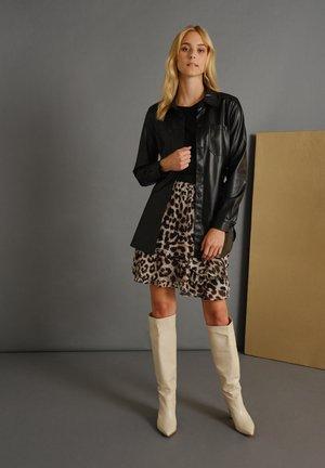 A-line skirt - braun