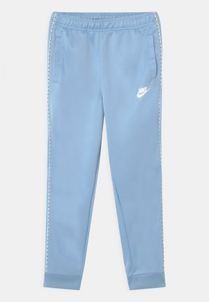 REPEAT - Tracksuit bottoms - psychic blue/white