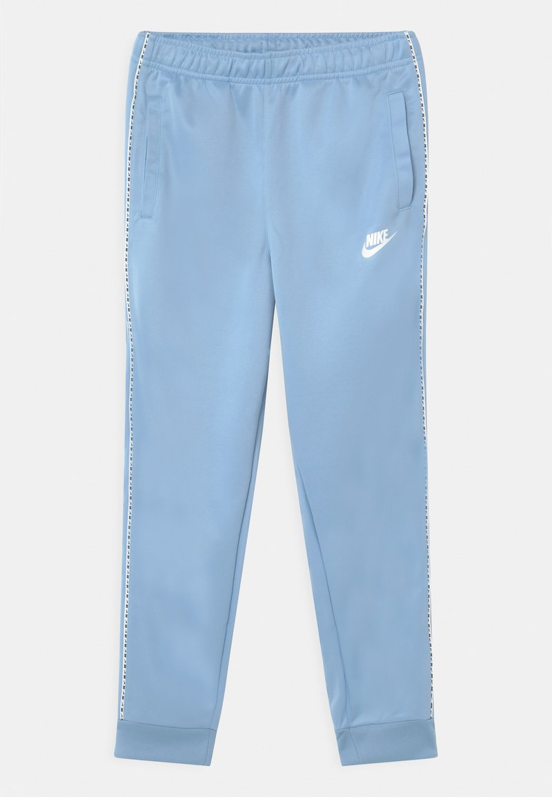Nike Sportswear - REPEAT - Verryttelyhousut - psychic blue/white