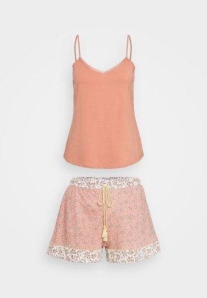 MINI LEAF - Pyjama - warm pink