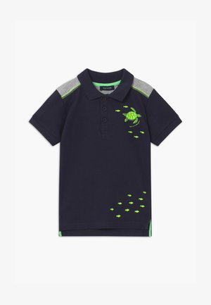 SMALL BOYS SEA CREATURES - Polo shirt - nachtblau