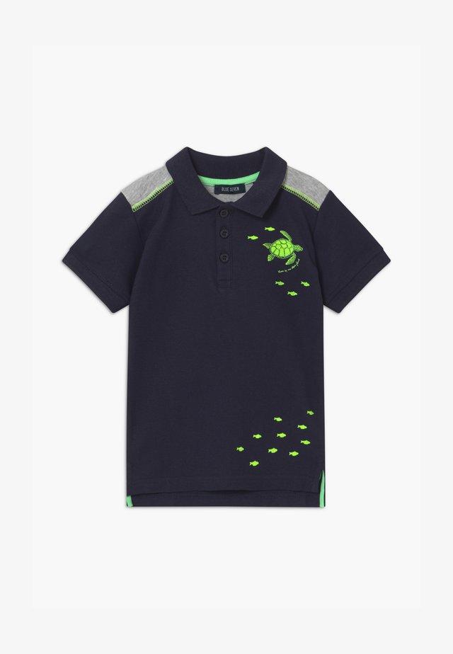 SMALL BOYS SEA CREATURES - Polo shirt - nachtblau