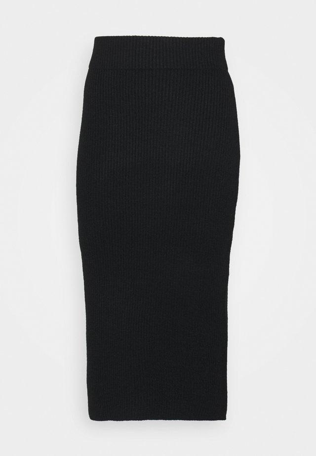 VIRIL PENCIL SKIRT - Kynähame - black