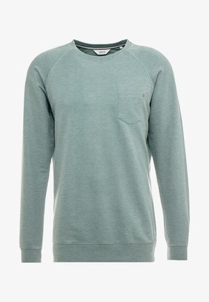 HOWARD CREW - Sweatshirt - huntergree