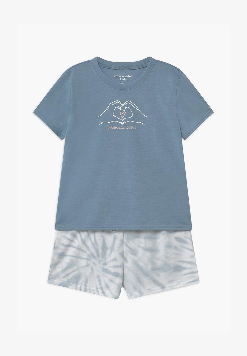 Abercrombie & Fitch - SLEEP SET  - Pyžamová sada - blue