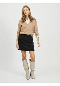 Object - A-line skirt - black - 1