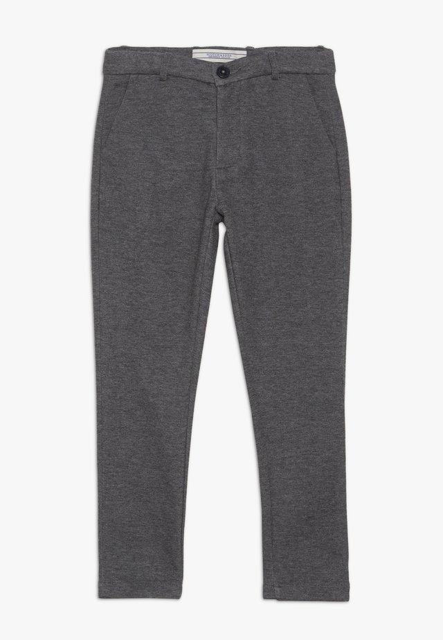 Pantalones chinos - anthrazit melange