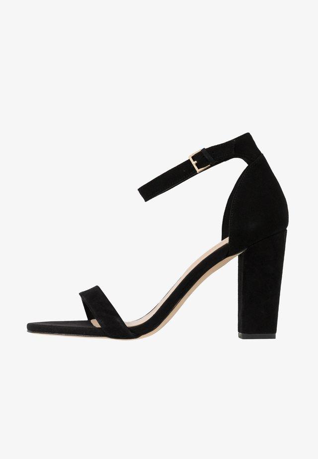JERAYCLYA  - Korolliset sandaalit - black