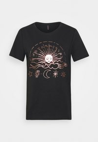 ONLY Tall - ONYRANDI LIFE  - T-Shirt print - black - 3