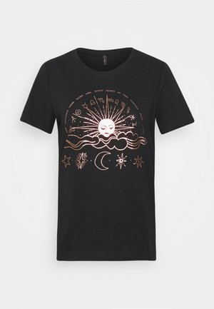 ONYRANDI LIFE  - Camiseta estampada - black
