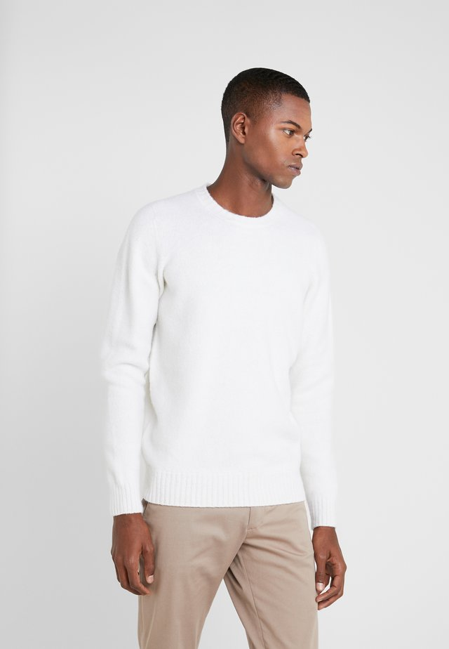 GIROCOLLO GARZATO - Jumper - off white