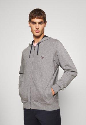 ZIP HOODY UNISEX - Zip-up sweatshirt - grey