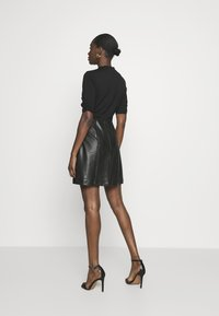 Dorothy Perkins - MIX MINI DRESS - Day dress - black