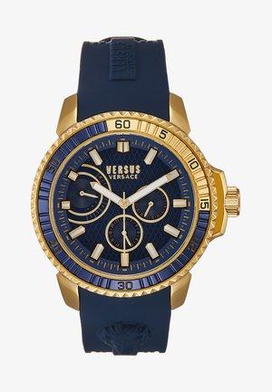 ABERDEEN EXTENSION - Watch - gold-coloured/blue