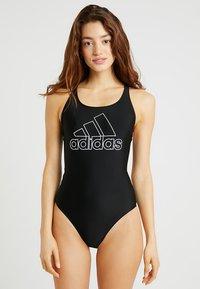 adidas Performance - FIT SUIT - Swimsuit - black - 0