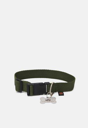 BASIC DOG TAG COLLAR UNISEX - Muut asusteet - dark olive