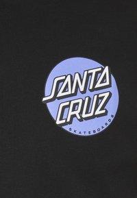 Santa Cruz - UNISEX ROB DOT  - Print T-shirt - black - 2