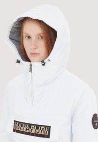 Napapijri - RAINFOREST  - Outdoorjacka - white - 3