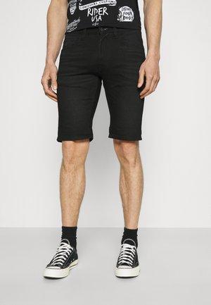 COMMERCIALKEN - Denim shorts - black