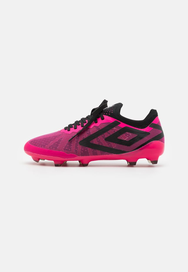VELOCITA VI PRO FG - Moulded stud football boots - pink peacock/black/white