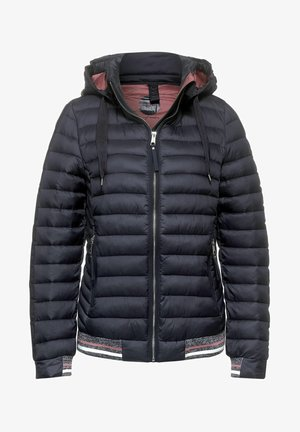 MIT KAPUZE - Winter jacket - blau