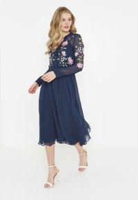 BEAUUT - Shirt dress - navy - 0