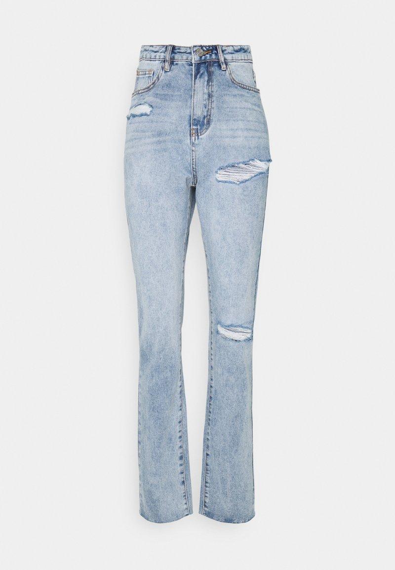 Missguided Tall - SLASH - Jeans straight leg - blue